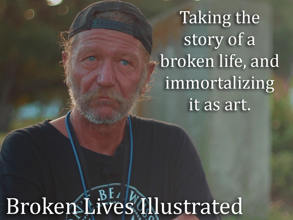 Broken Lives Illustrated's video poster
