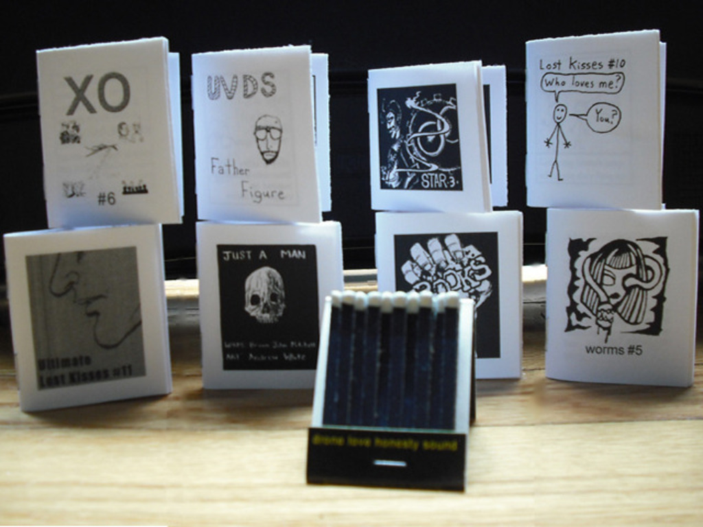 Mini-Comics the Size of a Pack of Matches's video poster