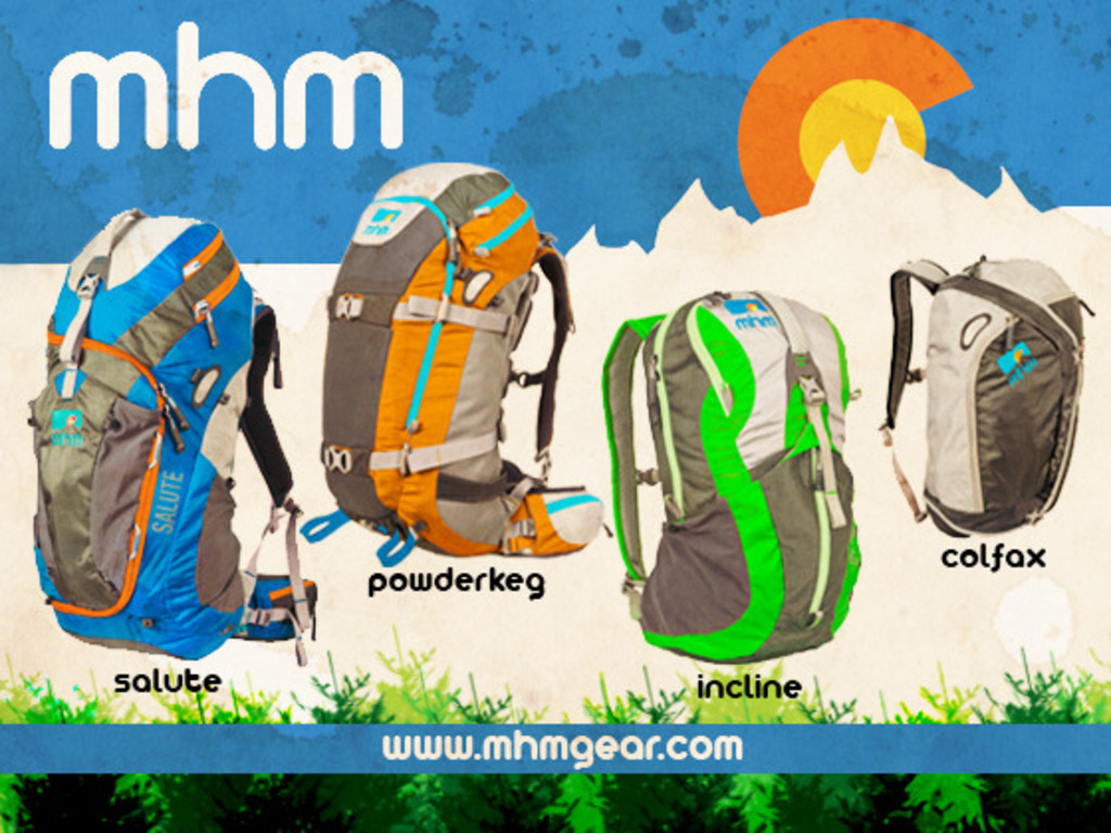 The Salute, PowderKeg, Incline and Colfax Backpacks by MHM's video poster