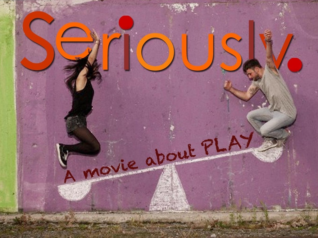 Seriously! A movie about PLAY's video poster