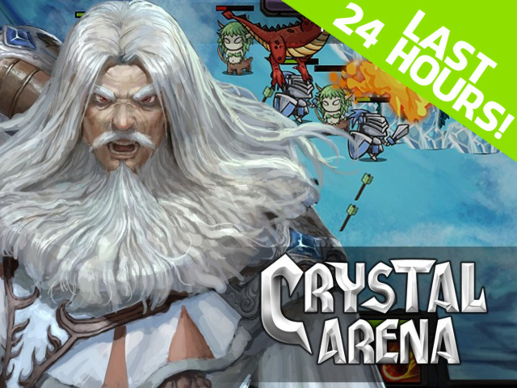 Crystal Arena: a MOBA-like Strategy Game's video poster