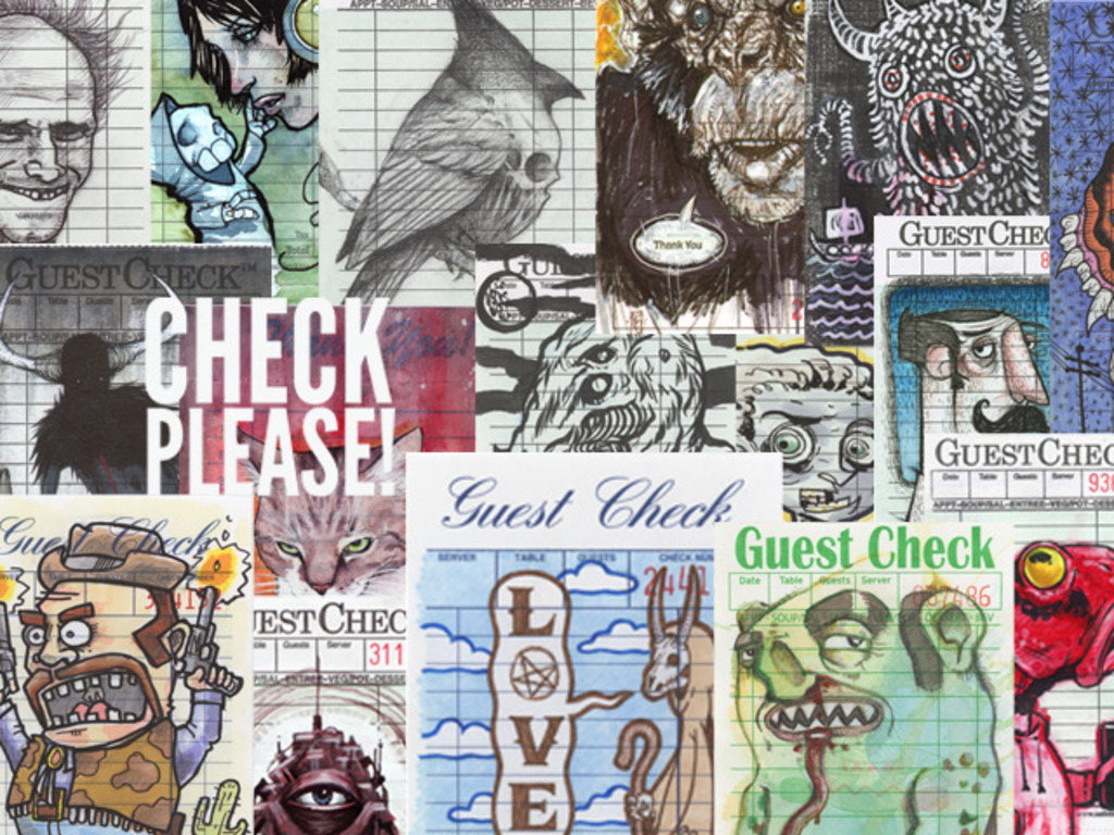 Check Please! A Collection Of Art On Guest Checks's video poster