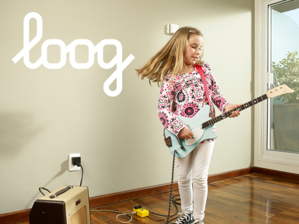 The Electric Loog Guitar's video poster