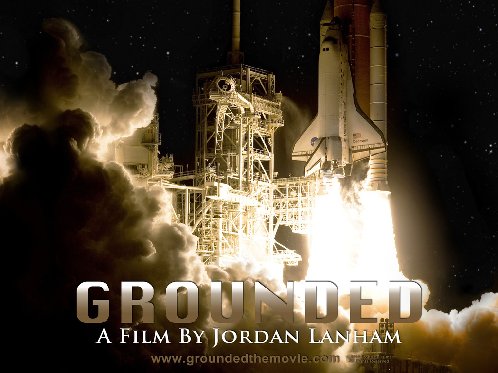 Grounded: The Future Of NASA's video poster