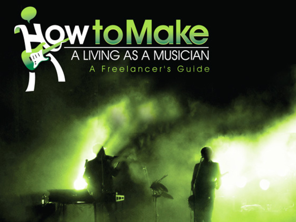 A Really Cool Book on How to Making a Living as a Musician's video poster