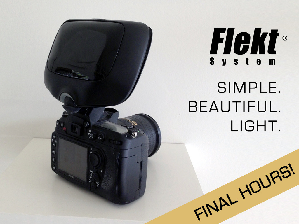 Flekt: Studio Quality Light from Your Pop-Up Flash's video poster
