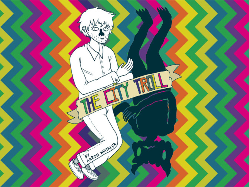 THE CITY TROLL: a graphic novel's video poster
