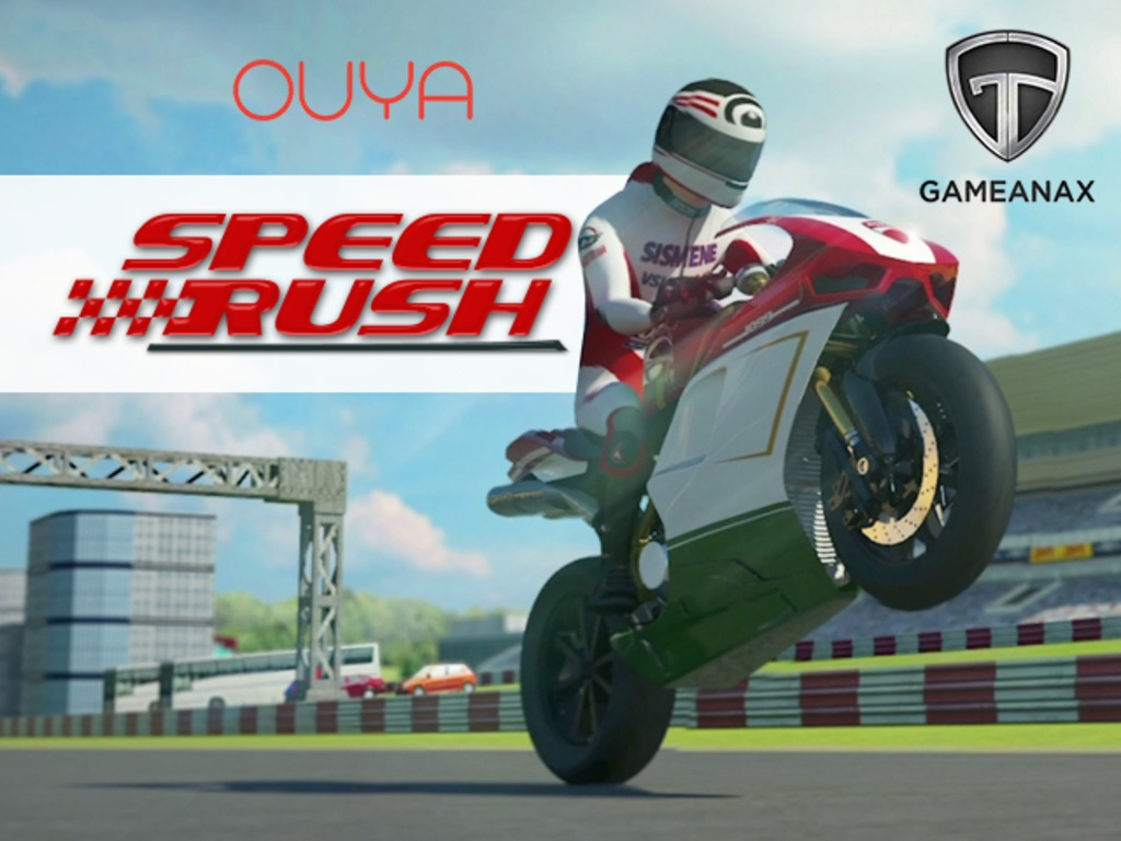 Speed Rush - A Superbike Game for OUYA Console's video poster