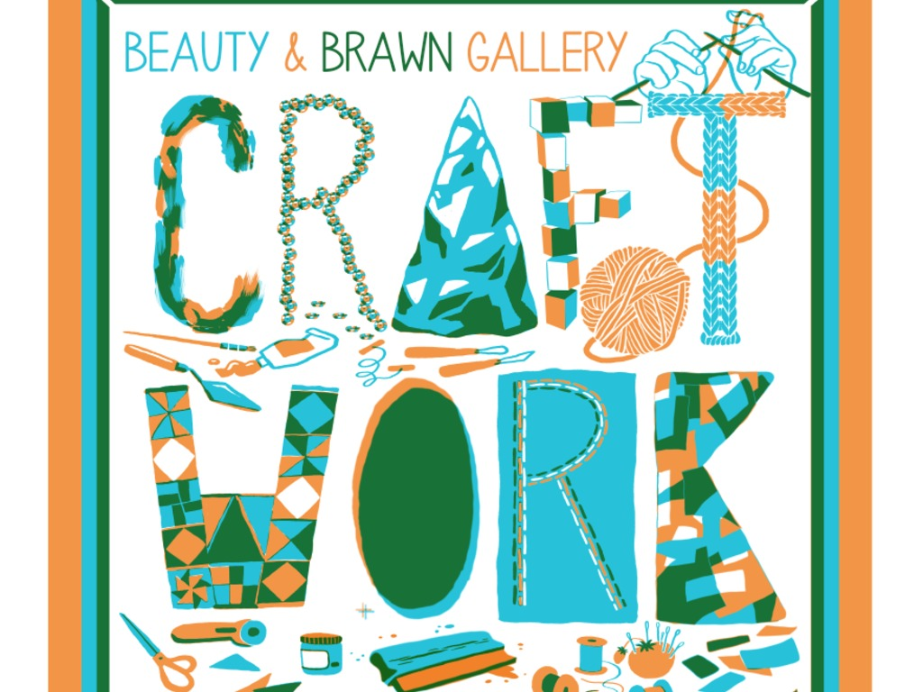 Craft/Work's video poster