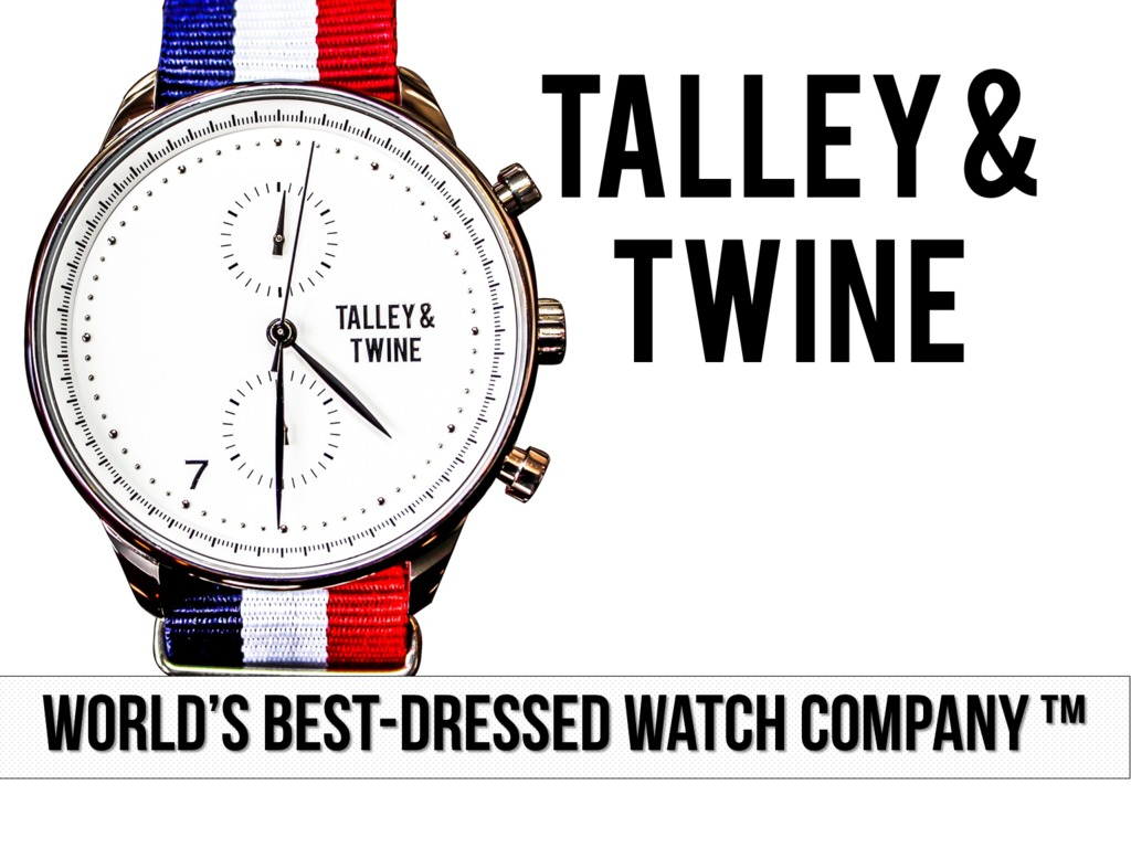 [Watch] Talley & Twine: World's Best-Dressed Watch Company's video poster