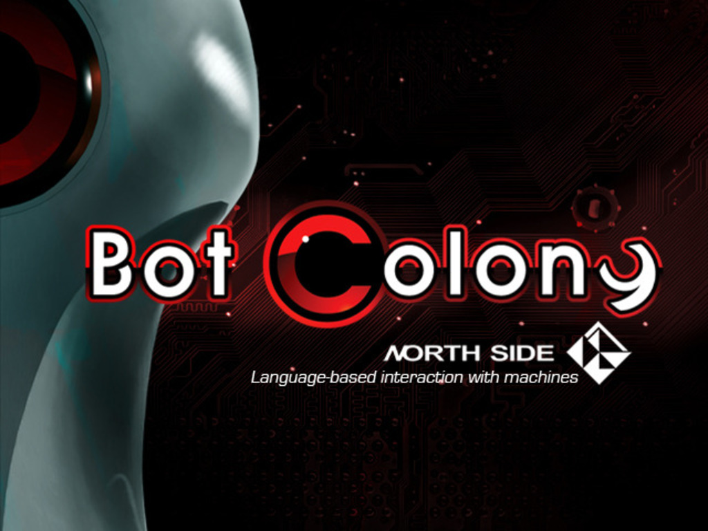 Bot Colony: now conversation is part of the adventure's video poster