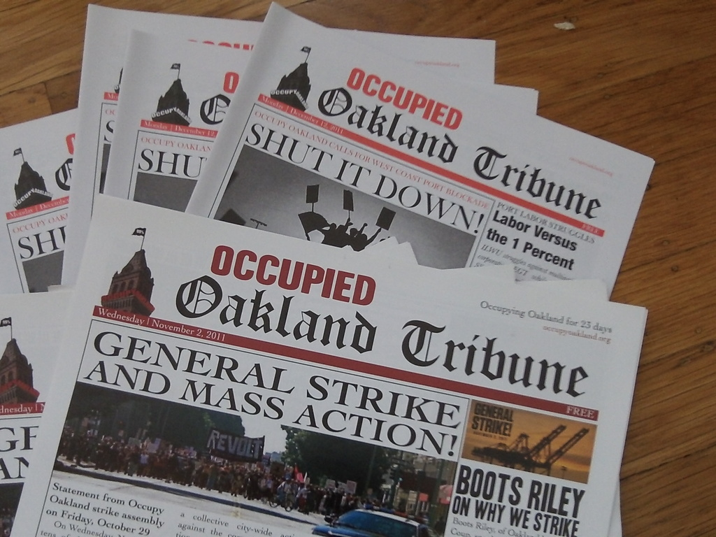 Occupied Oakland Tribune Issues 3 & 4's video poster