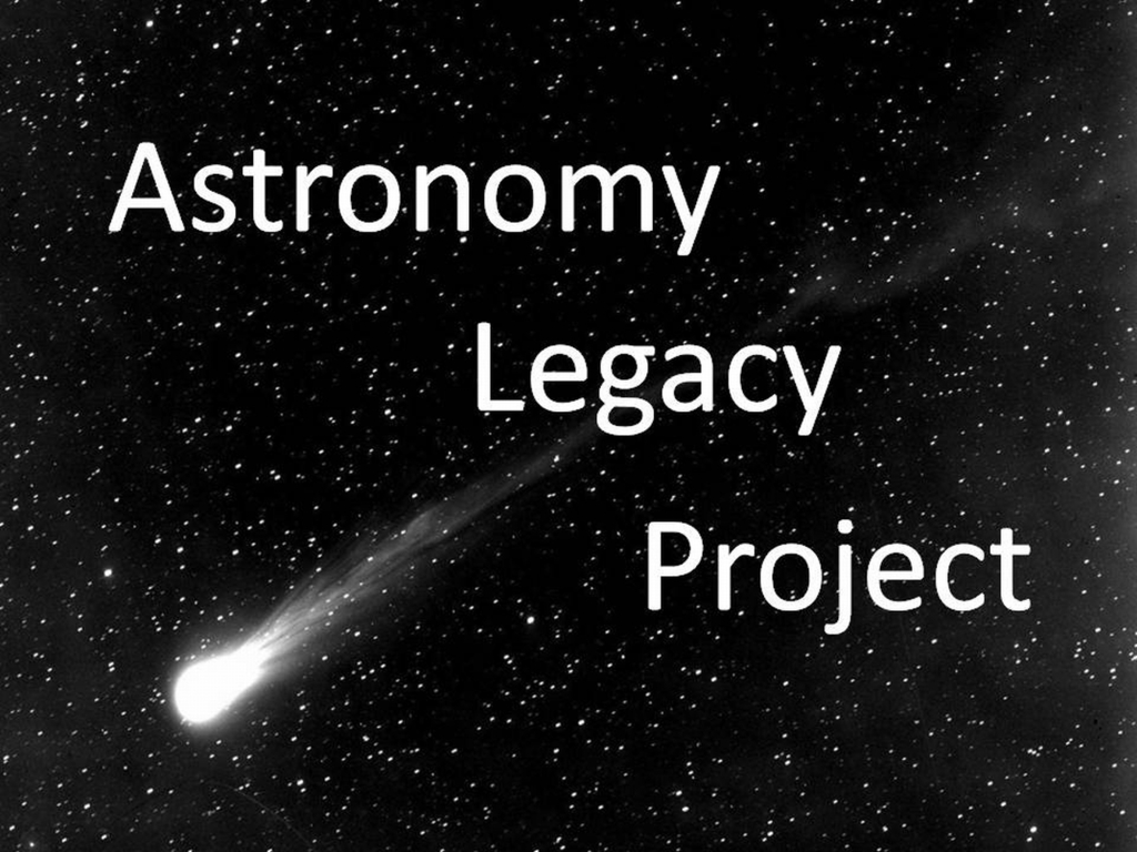 The Astronomy Legacy Project's video poster