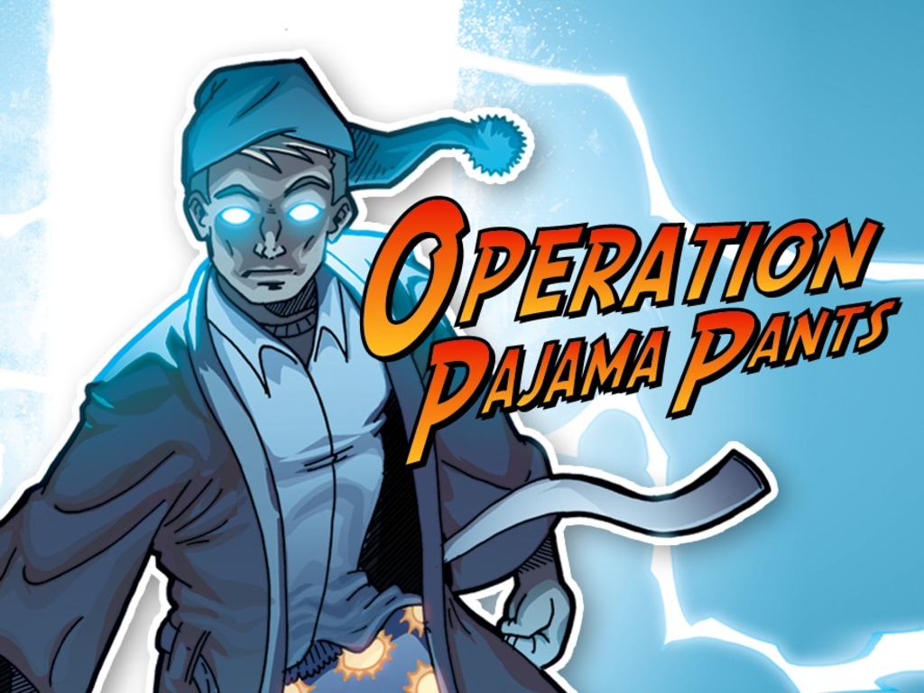 Operation Pajama Pants - Graphic Novel Hardcover's video poster