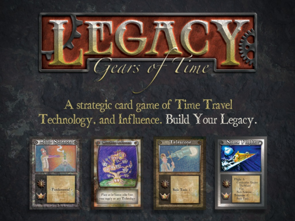 Legacy: Gears of Time's video poster
