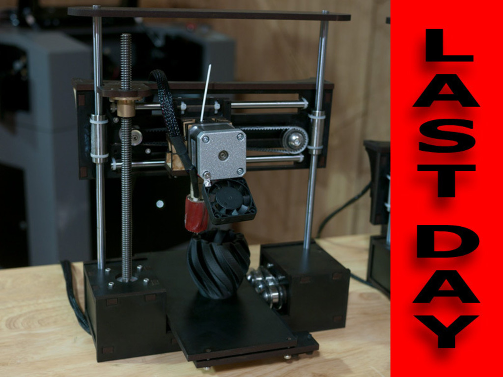 QU-BD One Up - Open Source Production Ready 3D Printer's video poster
