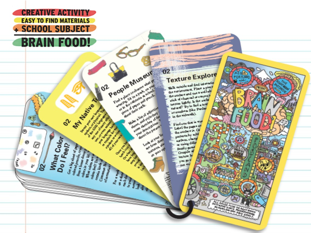 Brain Food: A Design for Good Product by AIGA Portland's video poster
