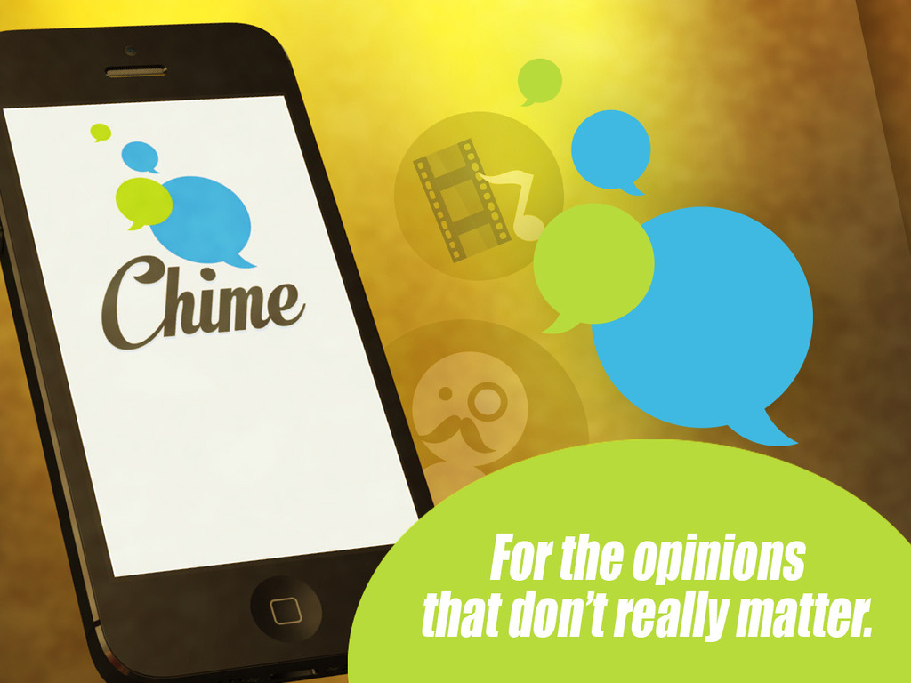 Chime: Anonymous Group Messaging's video poster
