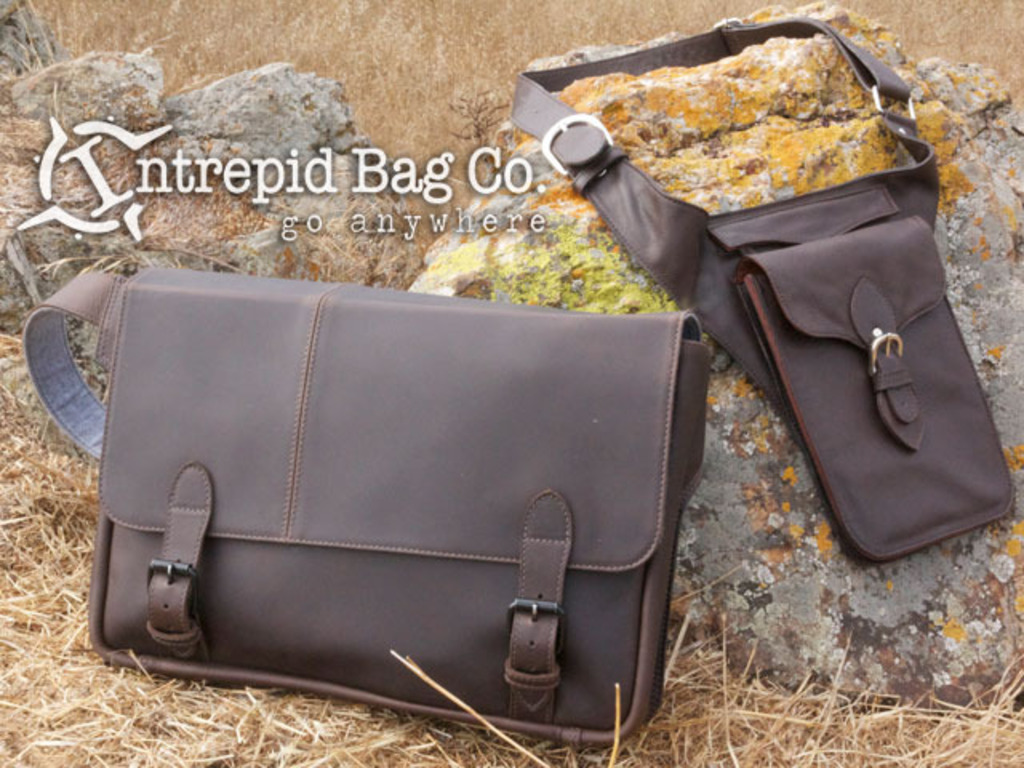 Intrepid Bags, the Ultimate His-n-Hers Leather Travel Bags's video poster