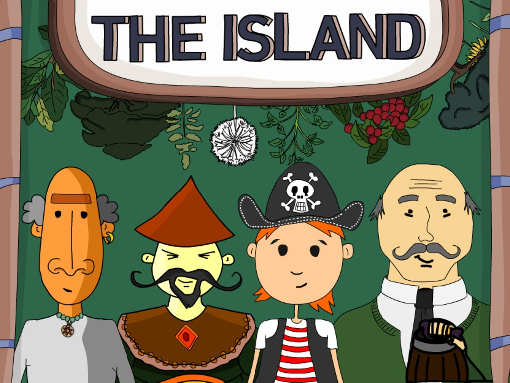 THE ISLAND: A learning game for everyone.'s video poster