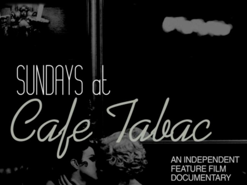 SUNDAYS AT CAFE TABAC's video poster
