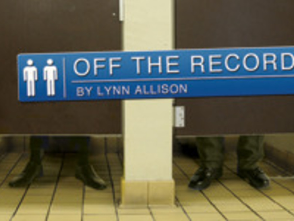 OFF THE RECORD A Play By Lynn Allison's video poster