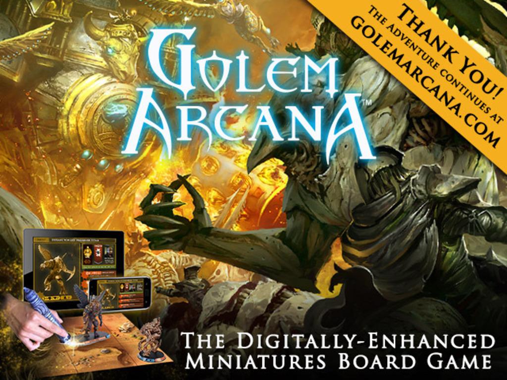 Golem Arcana's video poster