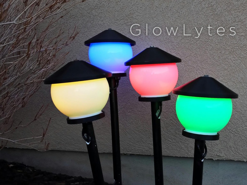 Glowlytes - Bring Color to your Yard!'s video poster