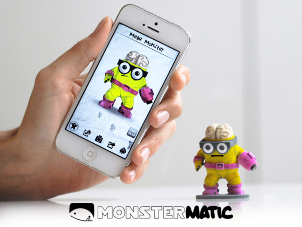 MONSTERMATIC: The First 3D Printing Game's video poster
