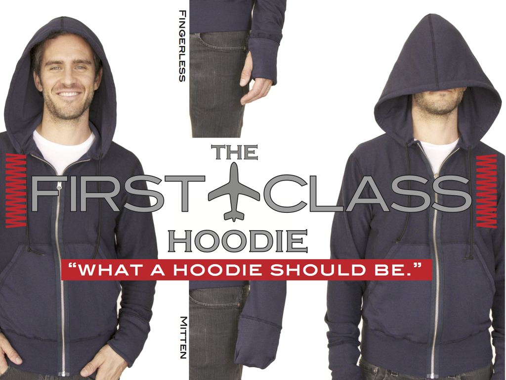 The First Class Hoodie's video poster