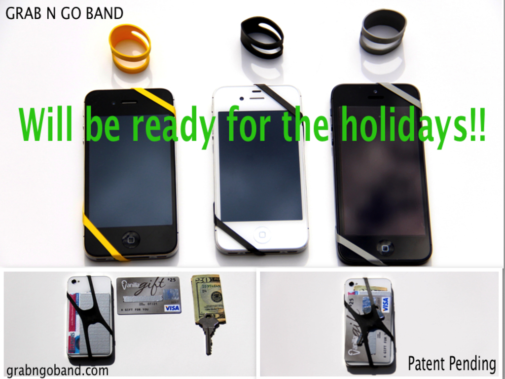 Grab N Go Band - Not a wallet. Not a phone case. It's BOTH!'s video poster