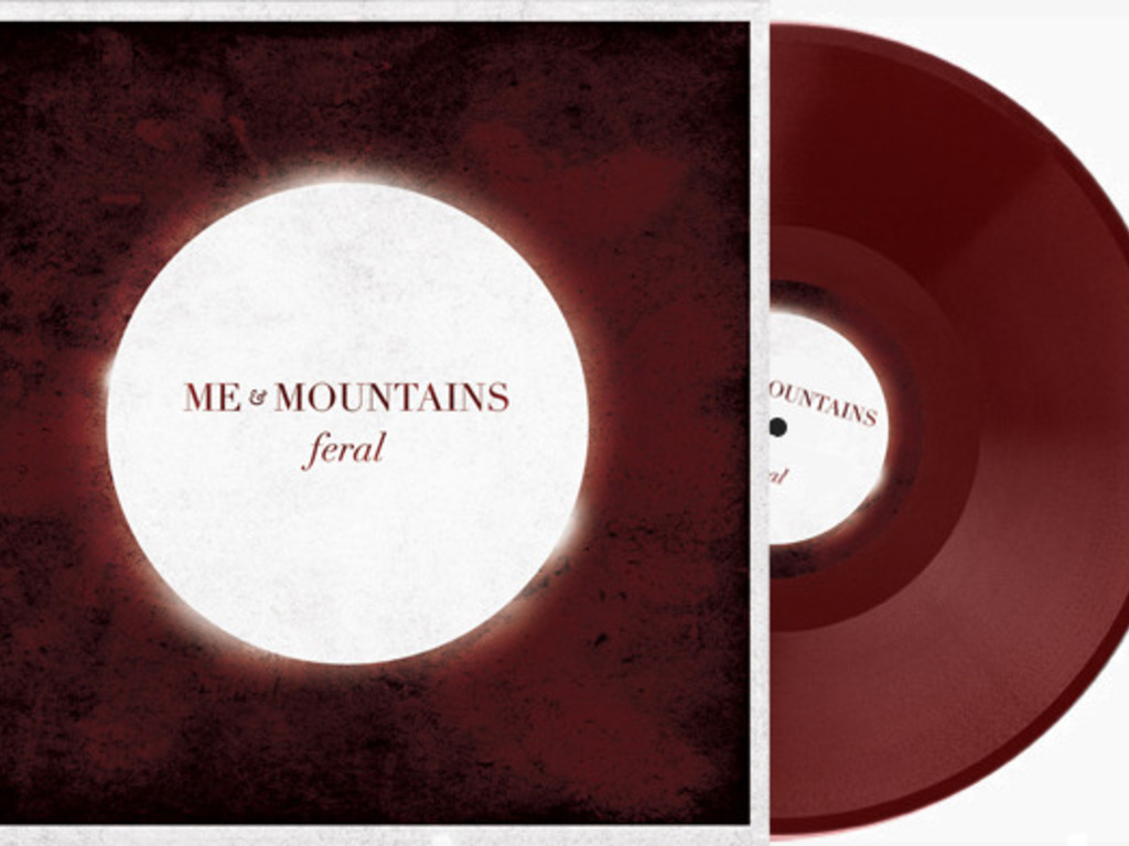 """Help put Me & Mountains new album """"FERAL"""" on VINYL's video poster"""