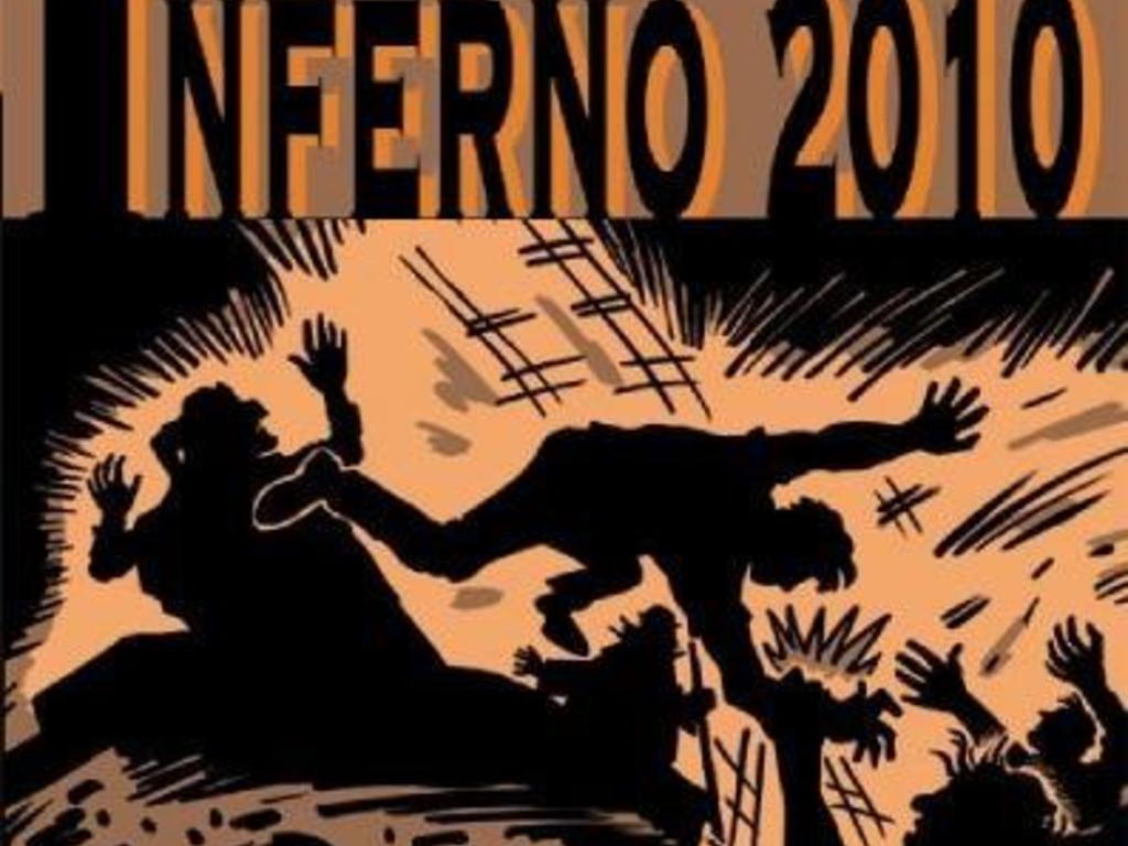 Inferno 2010 - a graphic novel's video poster