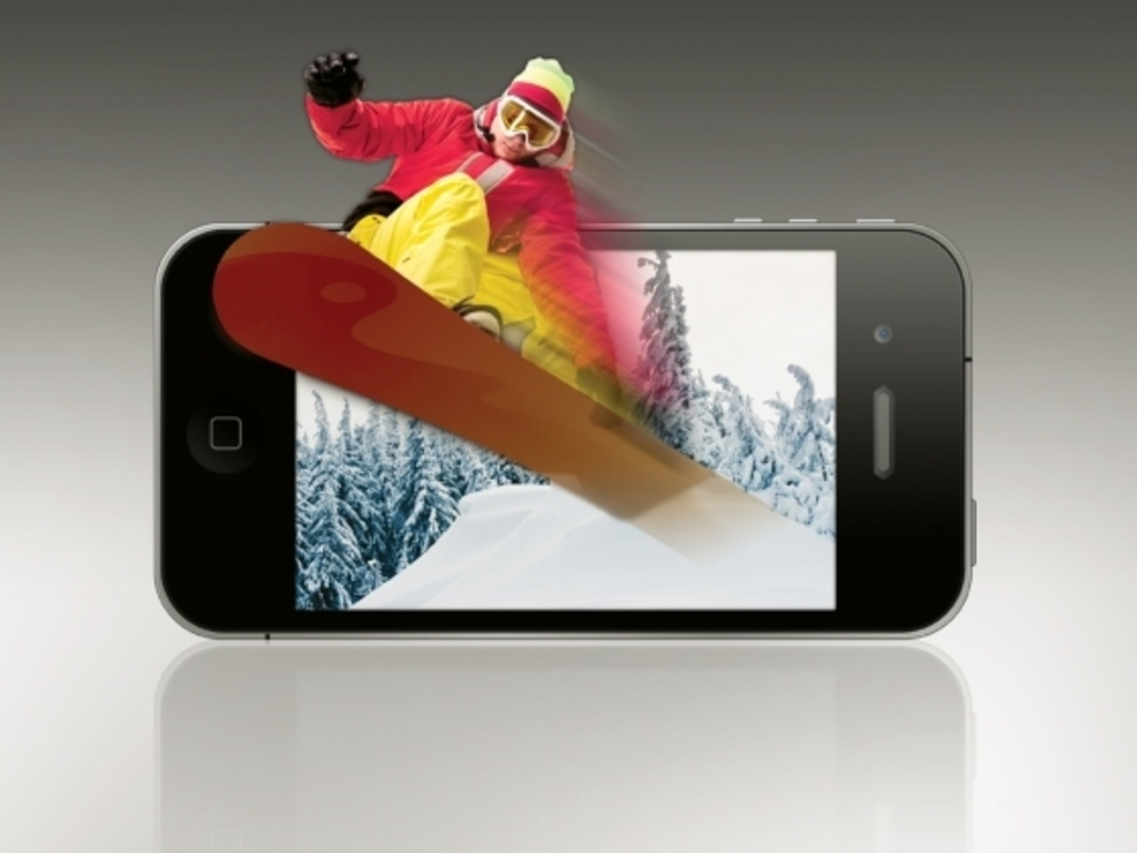 Glasses-Free 3D game for the iPhone's video poster