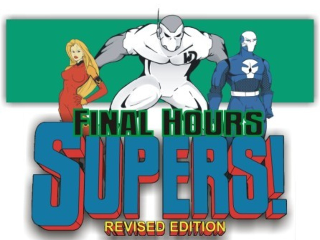 SUPERS! The Comic Book RPG (Revised)'s video poster