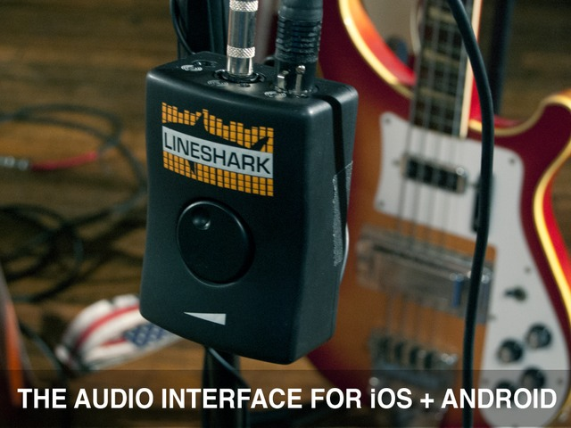 lineshark the audio interface for ios android by. Black Bedroom Furniture Sets. Home Design Ideas