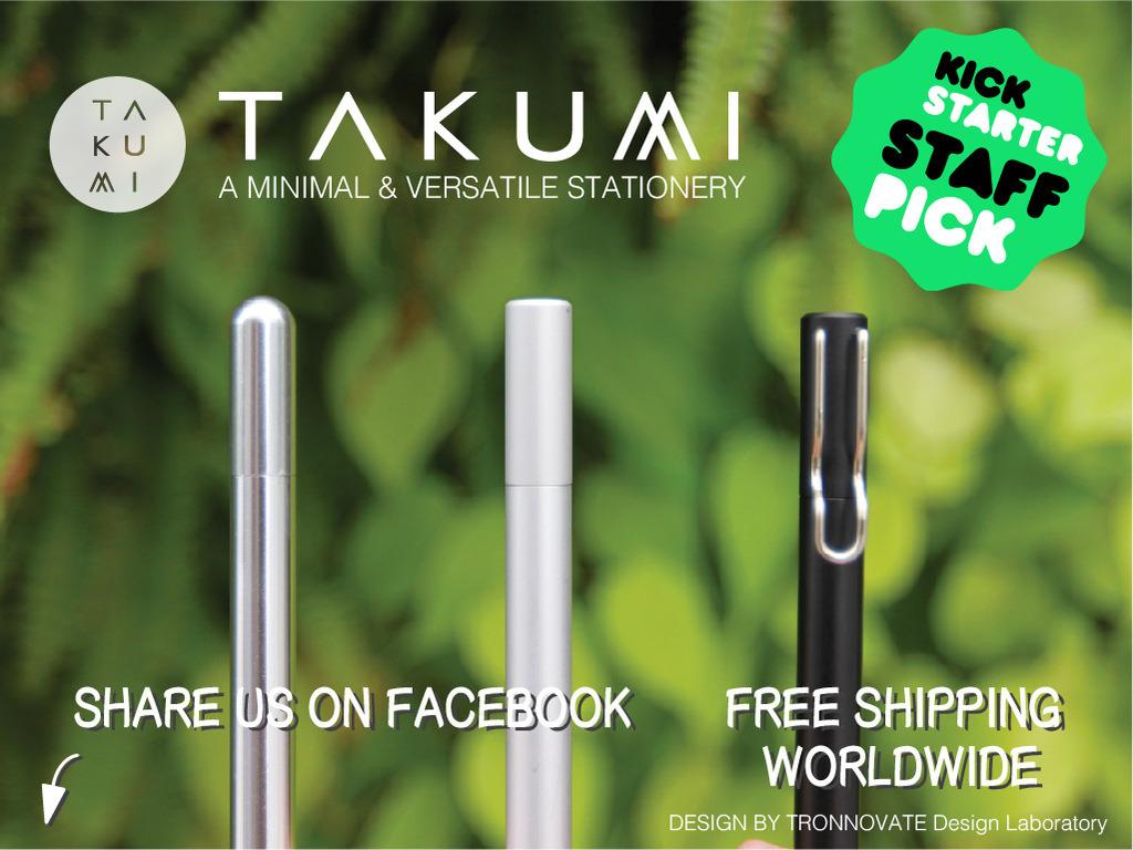 TAKUMI Pen: A Minimal & Versatile Stationery's video poster