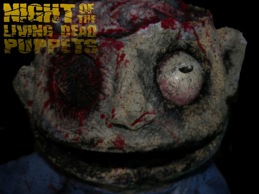 Night of the Living Dead Puppets - a Zombie Puppet Movie's video poster