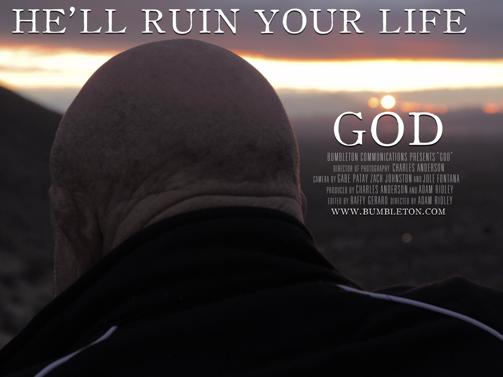 God's video poster