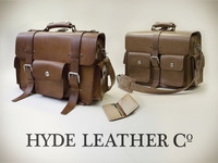 HYDE classic leather bags, wallets and such.