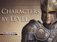 CBL: Characters-By-Level for Pathfinder RPG