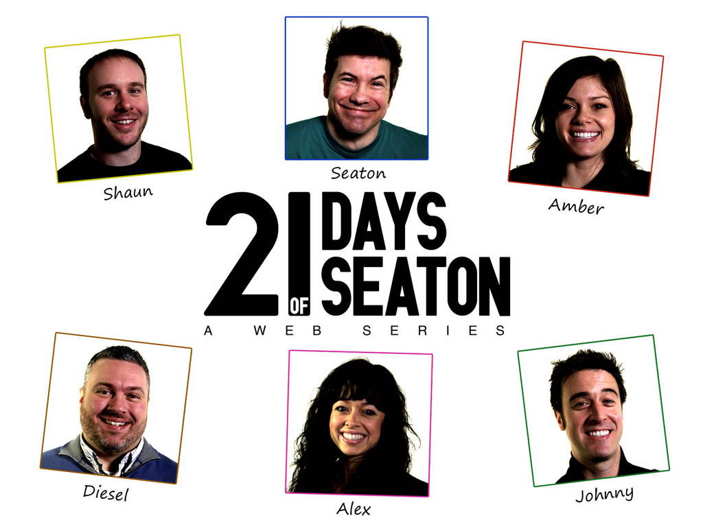 21 Days of Seaton's video poster