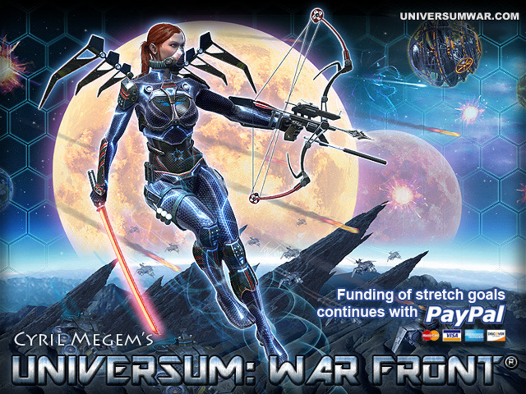 Universum: War Front - FPS, RTS, MOBA RPG in one Space Epic's video poster