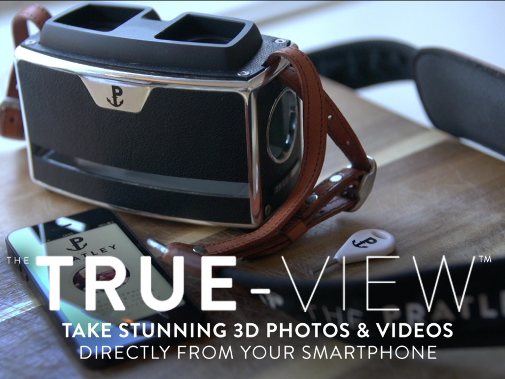 True-View™ - Your smartphone is now a 3D camera.'s video poster