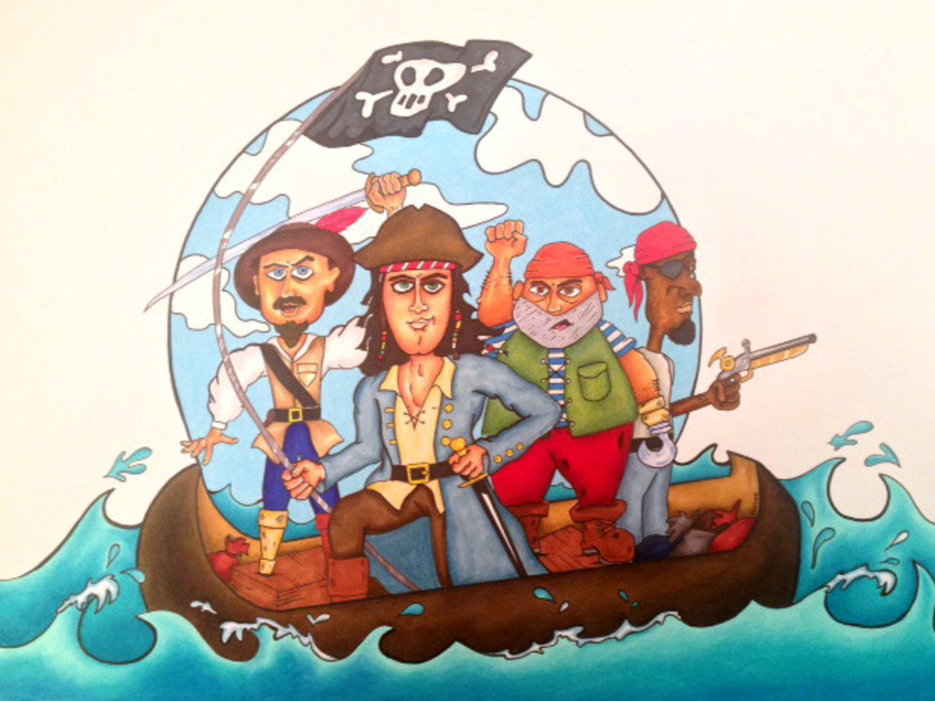 """No Beard"" The Pirate: An adventurous, swashbuckling tale!'s video poster"