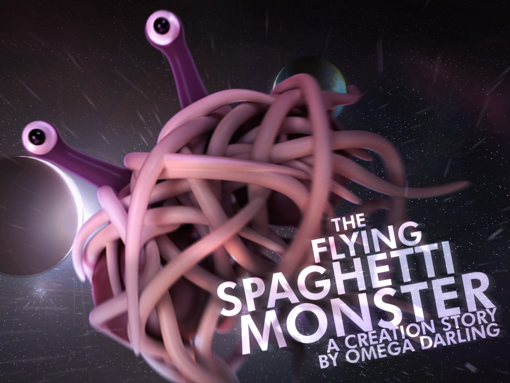 The Flying Spaghetti Monster: A Creation Story's video poster