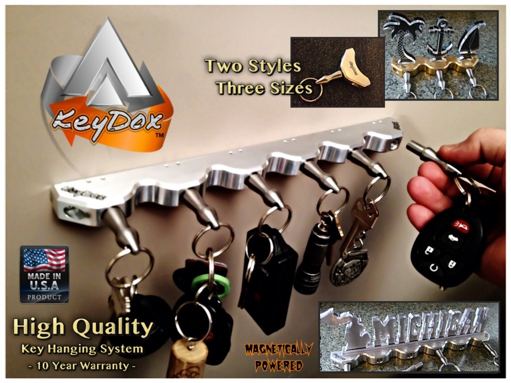 KeyDox™ Key Hanging System Made in Michigan, USA's video poster