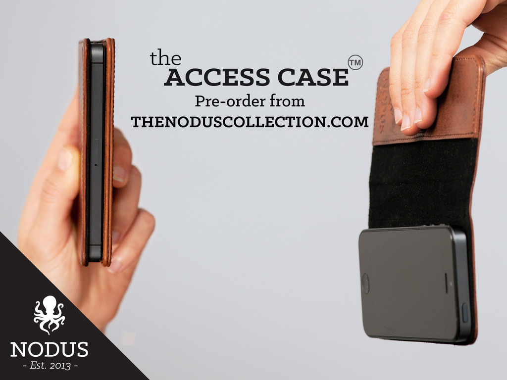 The Access Case - Slim Leather Micro Suction- iPhone/S4/iPad's video poster