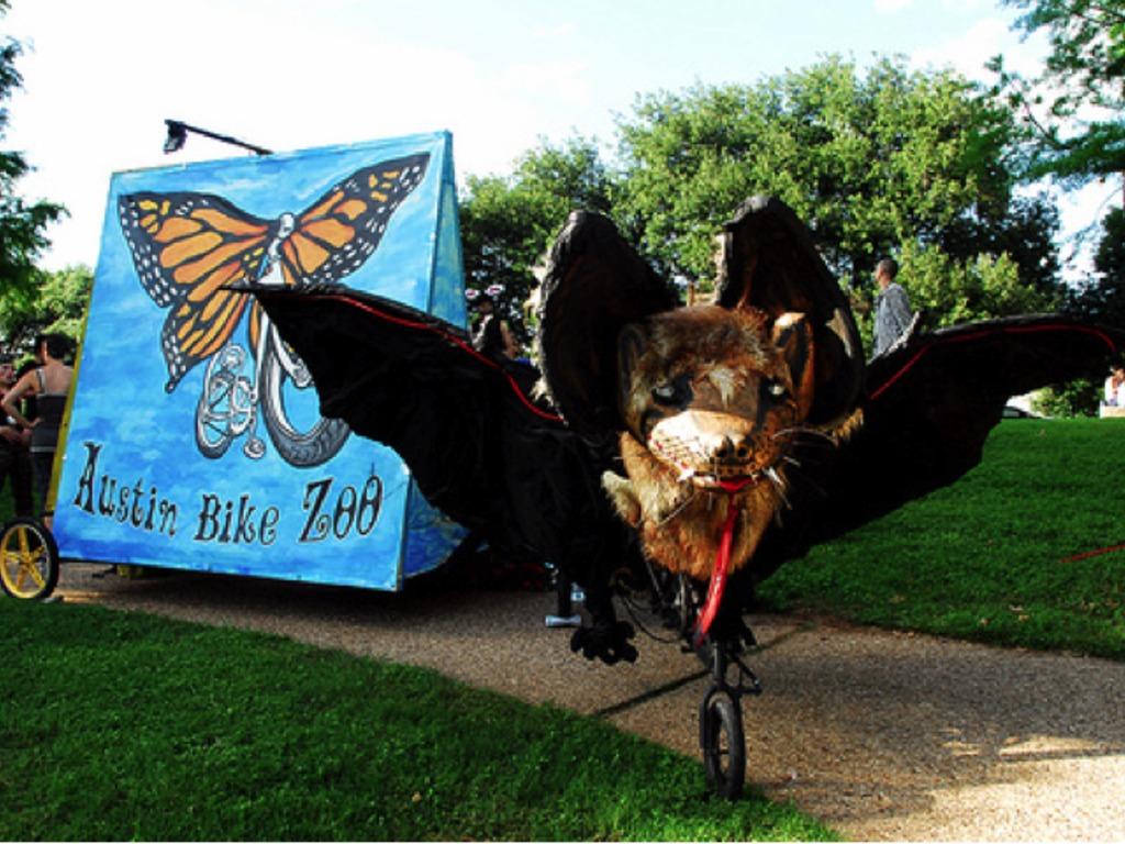 "Austin Bike Zoo Reimagines ""A Midsummer Night's Dream""'s video poster"