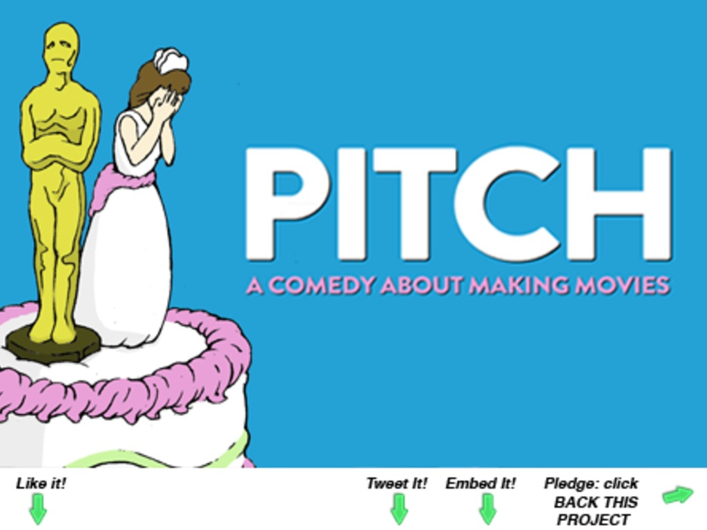 """Pitch"" - A Comedy About Making Movies's video poster"